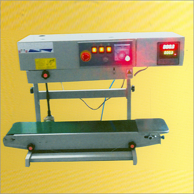 Continuous Band Sealers Machine