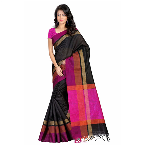 Tussar Silk Indian Saree