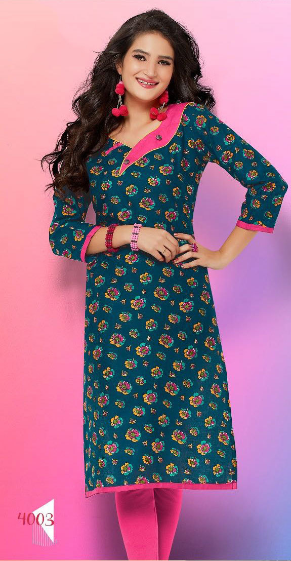 e705263cd9a Wholesale daily wear kurtis under RS 200 for reselling indian market ...