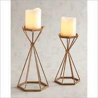 Decorative Iron Candle Holder