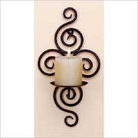 home decoration Wall Mounted metal candle holder