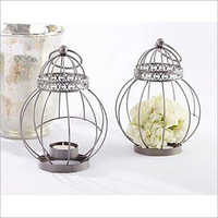 Metal Lantern Single Candle Holder  For Home & Bars