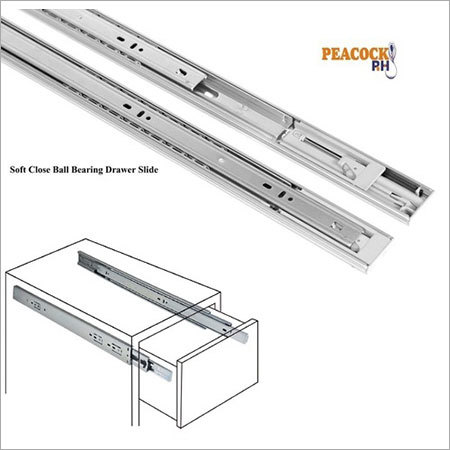 Stainless Steel Ball Bearing Drawer Slide