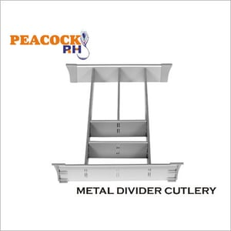 Metal Drawer Divider Cutlery