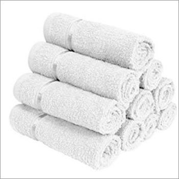 White Terry Cotton Towel