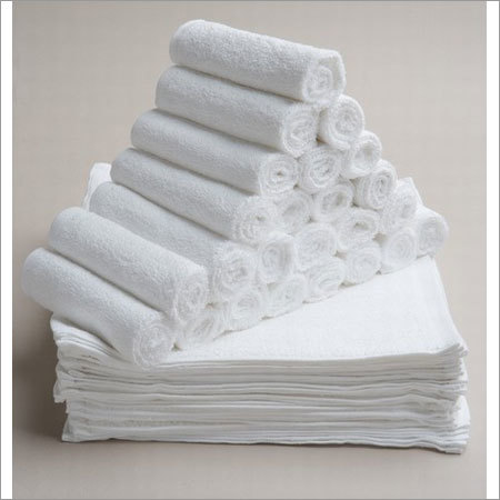 White Terry Bath Towels