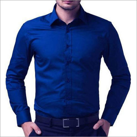 Blue Mens Shirt