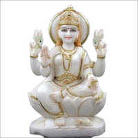 White Marble Laxmi Ji Statue
