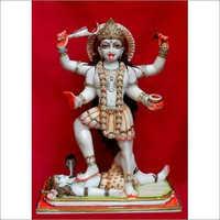 White Marble Kali Mata Statue