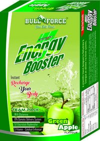Powder Energy Booster Green Apple