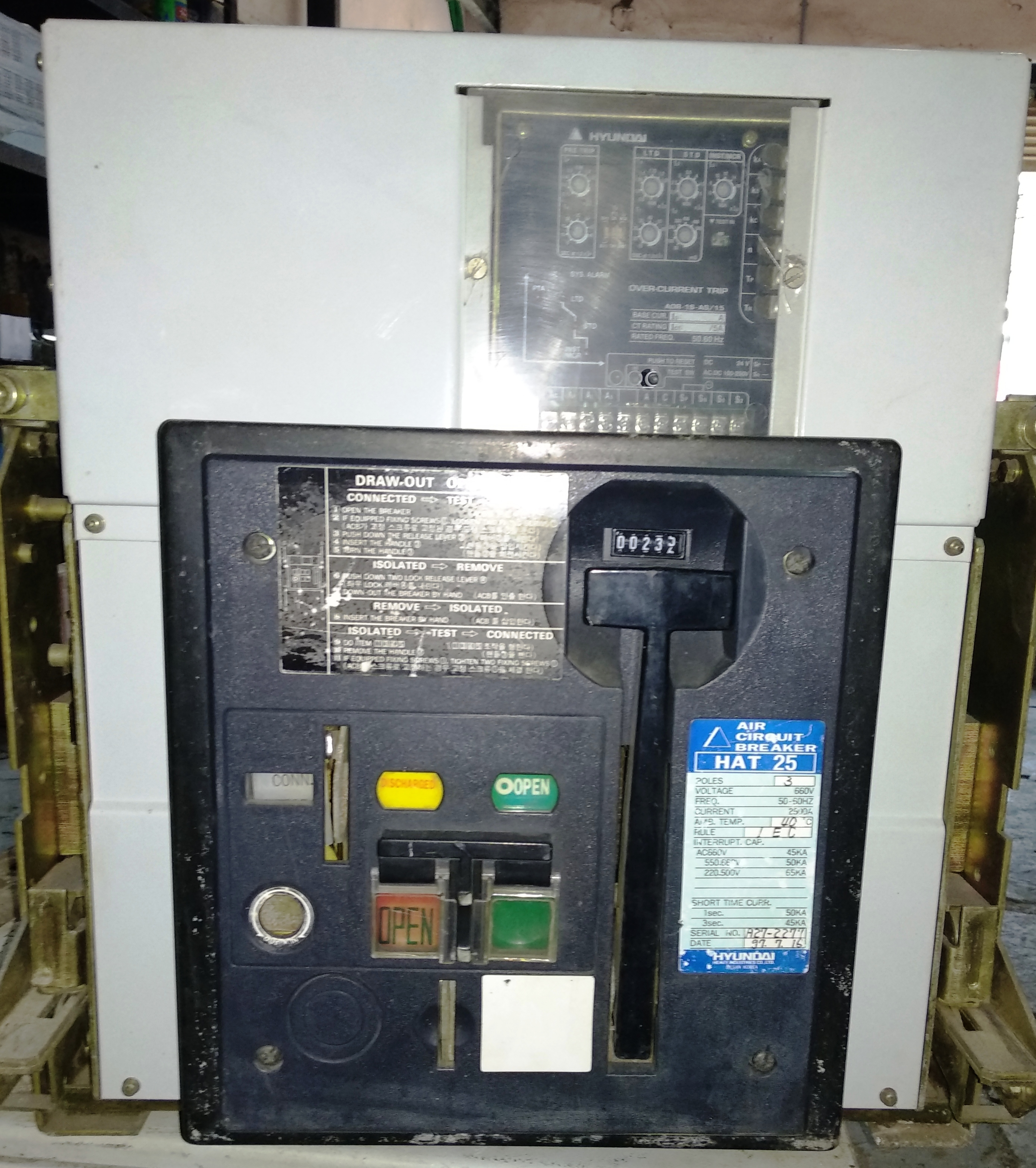 Hyundai Air Circuit Breaker