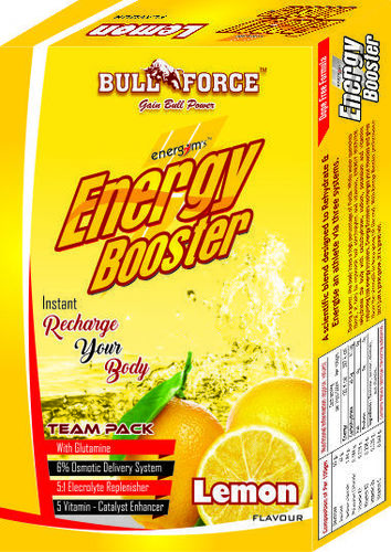 Powder Lemon Energy Booster