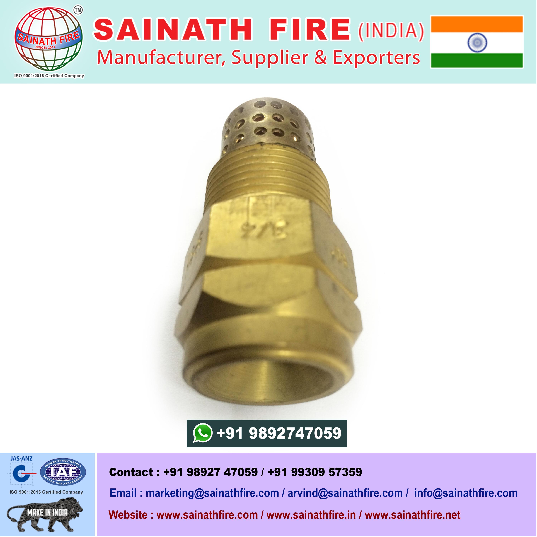 High Velocity Spray Brass Nozzle