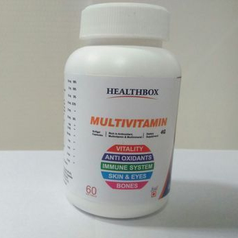 Multivitamin Antioxidant Softgel Capsule