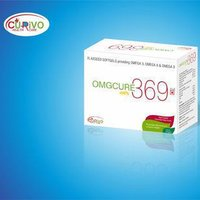 OMGCURE 369 Flaxseed Softgels