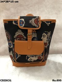 beautiful Ikat Backpack