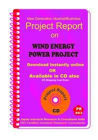 Wind Energy Power Project Establishment Project report eBook