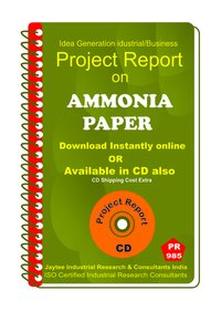 Ammonia paper manufacturing Project Report eBook