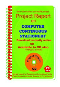 Computer Continuos Stationery manufacturing Project Report eBook