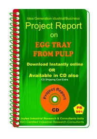 Egg Tray From Pulp manufacturing Project Report eBook