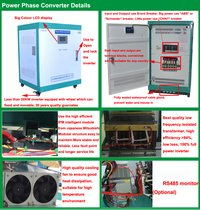 Single to Three Phase Inverter