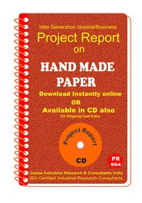 Hand made Power manufacturing Project Report eBook