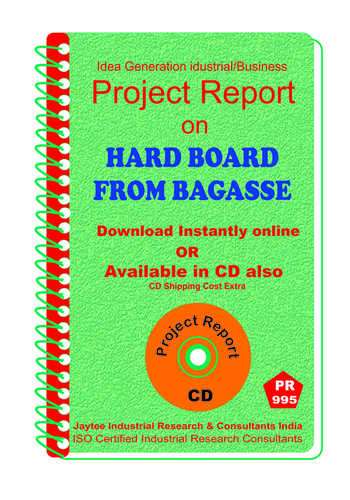 Hard Board from Bagasse manufacturing Project Report eBook