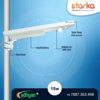 15 watt all in one solar street light