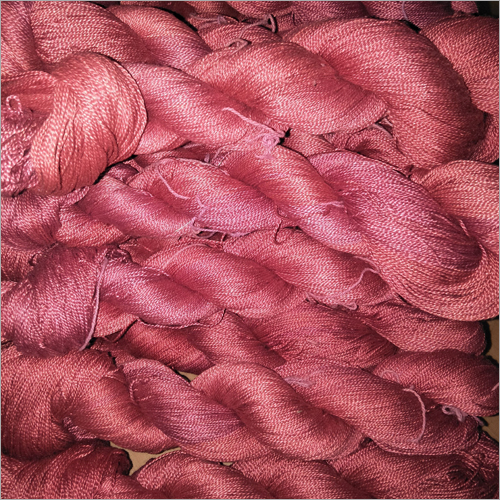Herbal Dyed Silk Yarn