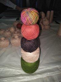 Herbal Dyed Silk Yarn