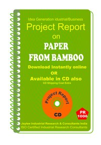 Paper From Bamboo manufacturing Project Report eBook