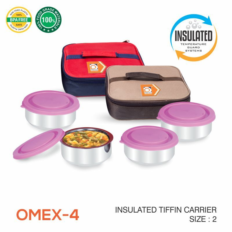OMEX Tiffin Carrier 2 Piece Set