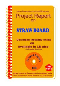 Straw Board manufacturing Project Report eBook