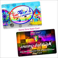 'Game Zone Debit Card