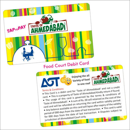 Food Court Debit Card