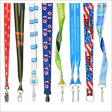 Multicolour Printed Lanyard