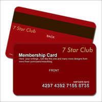 Club Membership Card