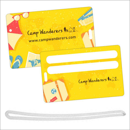 Luggage Tag Card