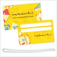 Luggage Tag Card