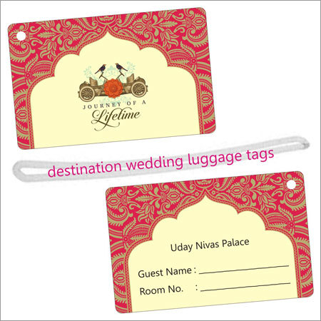 Destination Wedding Luggage Tags