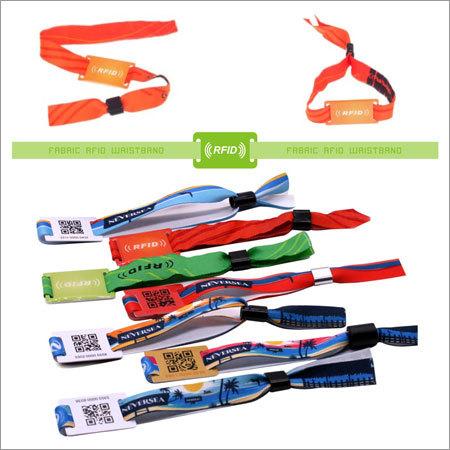 Fabric RFID Wristband