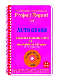 Auto Gears manufacturing Project Report eBook