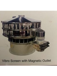 Vibro Screen with Magnetic Outlet