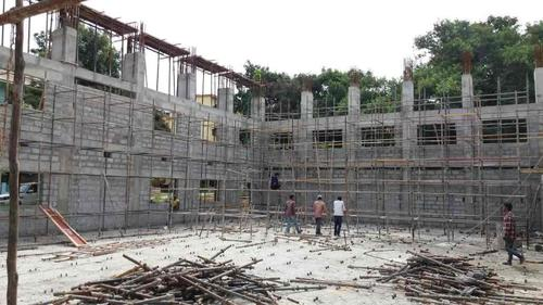 Scaffolding System Application: Construction