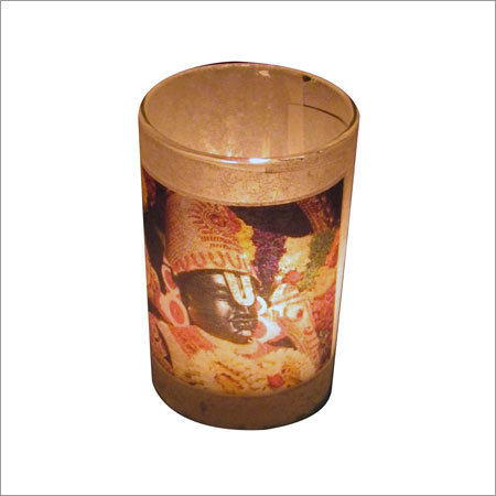 God Votive Candle