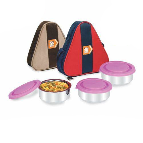 OMEX Tiffin Carrier 3 Piece Set
