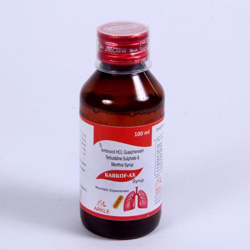 Amroxol Hydrochloried Syrups