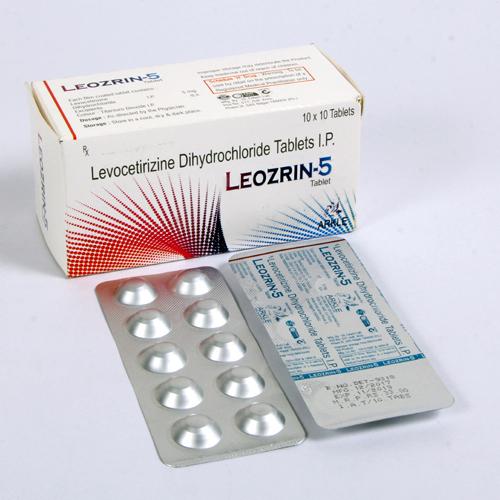 Levocetrizine Dihydrochloride 5mg Tablets