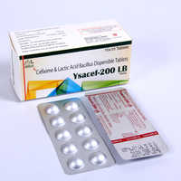 Cefixime 200mg With Bacillus 60 Million Spores Tablets