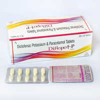Diclofenac Ptassium 50mg With Paracetamol 325 Tablets